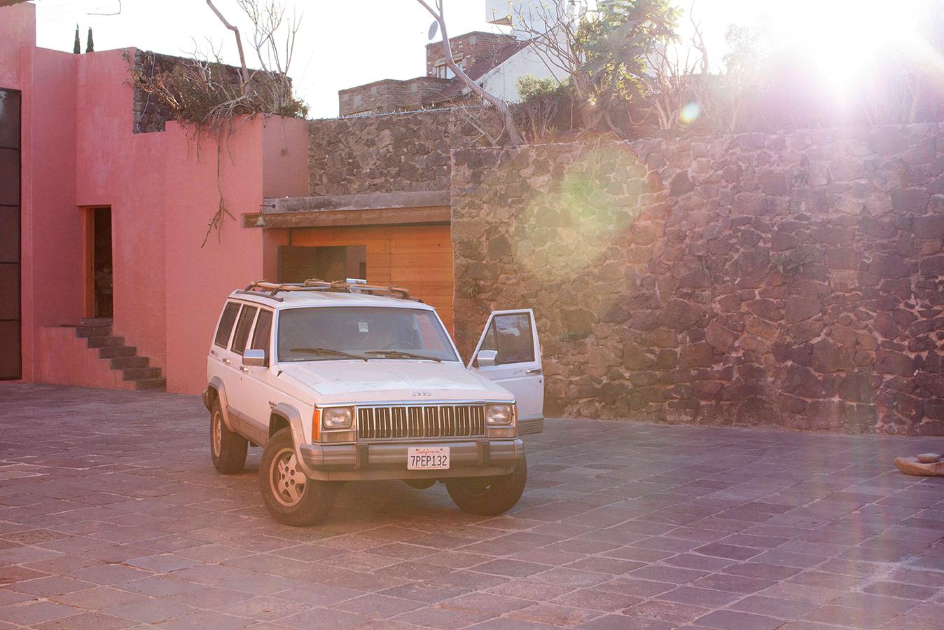 Chase, Casa Prieto - Lopez by Luis Barragan, Jardines del Pedregal, Mexico D.F.