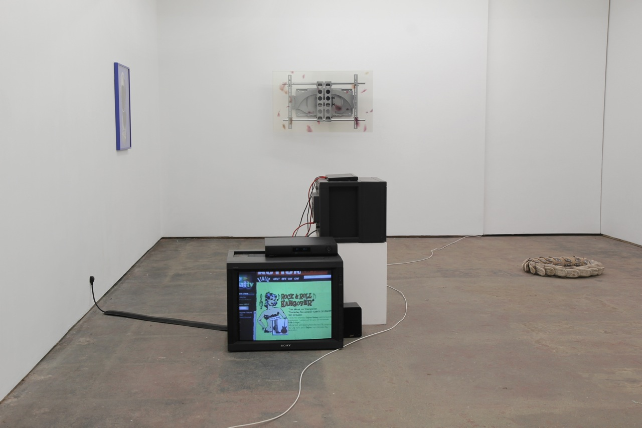Morphing Overnight, installation view