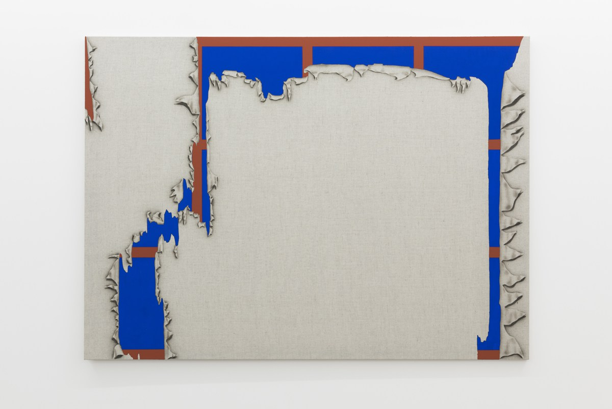 Zoe Barcza, Clyff II, 2015 Acrylic and flashe on linen 145 x 200 cm